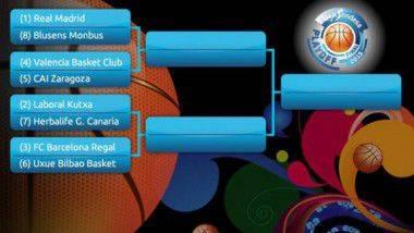 Arrancan los play-offs de la Liga ACB de baloncesto