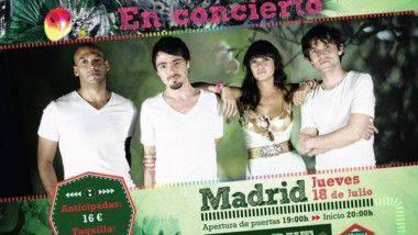 Sorteo de tres entradas dobles para ver a Bomba Estereo en Madrid