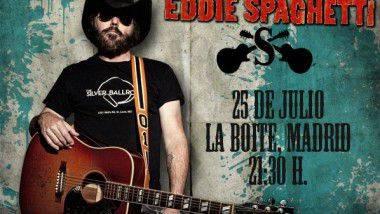 Sorteo de dos entradas individuales para ver a Eddie Spaghetti (Supersuckers) en Madrid