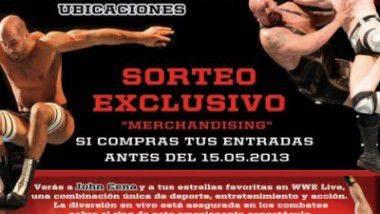 WWE Live en Barcelona y Madrid en noviembre