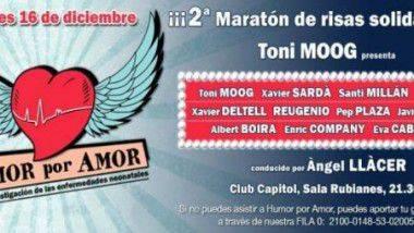 Humor por amor: El maratón de risas solidarias en Barcelona