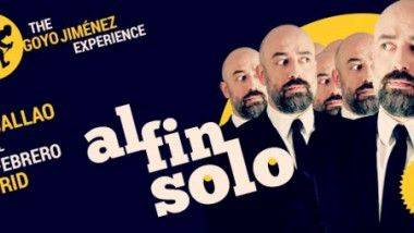 Goyo Jiménez presenta 'Al fin solo' en Madrid