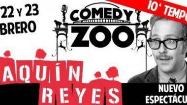 Joaquín Reyes en Comedy Zoo durante febrero