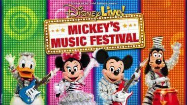 Disney Live!: Mickey's Music Festival en Madrid y Barcelona
