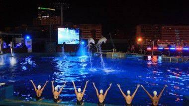 'Change': El espectáculo nocturno de las Noches del 'Oceanogràfic de Valencia