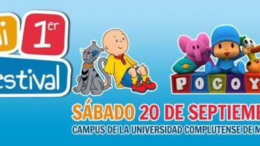 'Mi primer festival', 20 de septiembre en campus de la UCM
