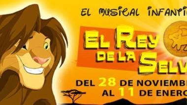 'El rey de la selva, el musical circense' en la carpa Circ de Nadal de Valencia