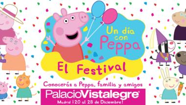 El festival 'Un día con Peppa' estará desde el 20 de diciembre en Palacio Vistalegre de Madrid
