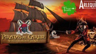 'Piratas al Caribe' en Teatro Arlequín Gran Vía de Madrid hasta el 2 de enero