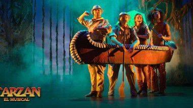 'Tarzán, el musical' hasta el 25 de enero en Teatro Nuevo Alcalá de Madrid