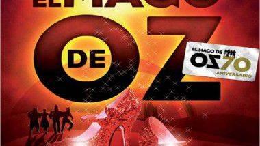 'El mago de Oz', el musical, en Madrid, Logroño y Las Palmas de Gran Canaria