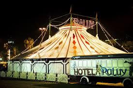 Circo Raluy, instalado hasta marzo en Port Vell de Barcelona