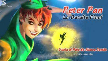 El musical 'Peter Pan' llega a Valencia y Pamplona en diciembre