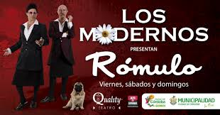 Los Modernos comienzan en Barcelona su gira 2015 por España con 'Rómulo'