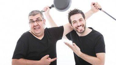 Dani Martínez y Florentino Fernández en Teatro Compac Gran Vía con '#vuelvenNOvuelven'