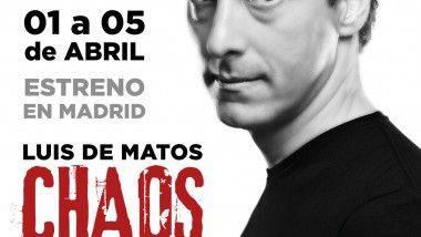 El mago Luis de Matos con 'Chaos', en Madrid