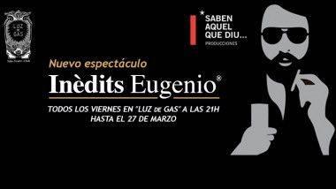 'Inèdits Eugenio', en Sala Luz de Gas de Barcelona