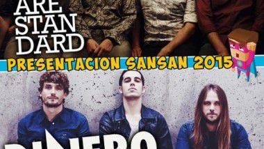 We Are Standard y Dinero, en la presentación del SanSan Festival en Madrid