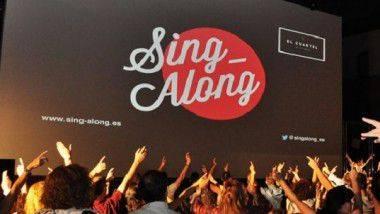 'Sing-Along' revoluciona el concepto de cine y karaoke en las principales ciudades españolas