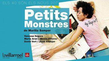 'Petits monstres' del 4 al 29 de marzo en Teatre La Villaroel de Barcelona