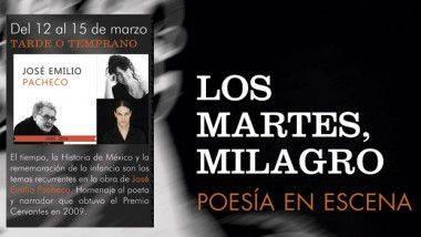 'Tarde o temprano' se une al cartel de 'Los Martes, Milagro'