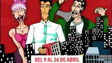 'Azotéame': El cómic musical en Teatro Flumen de Valencia