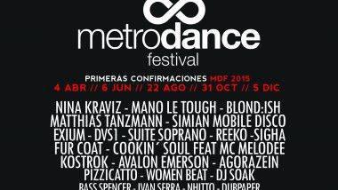 Primera cita de Metro Dance Festival 2015 el próximo 4 de abril