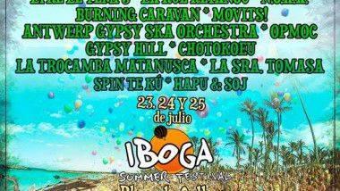 La mejor música balcánica en el Iboga Summer Festival 2015