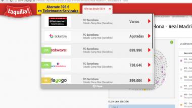 Taquilla.com lanza su extensión para Google Chrome