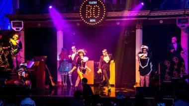 'Delizia', un dinner-show de lujo en Teatro Bodevil