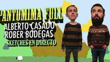 'Pantomima Full', en Madrid y Barcelona con Rober Bodegas y Antonio Casado