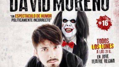 El juego de David Moreno en Jove Teatre Regina