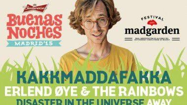 Nace 'Buenas Noches Madrid' con Erlend Øye & The Rainbows y Kakkmaddafakka encabezando su cartel