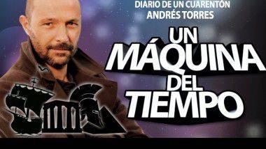 La máquina del tiempo de Andrés Torres llega a Barcelona