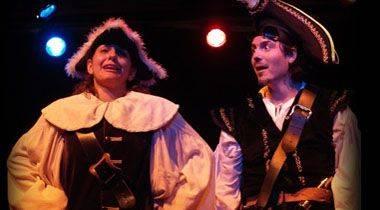 El pirata Abracadabra y la Comandante Listilla se apoderan del Teatro Victoria