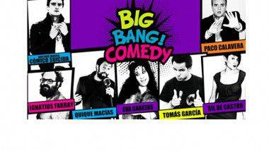 Big Bang! Comedy Barcelona: Cómicos confirmados para abril y mayo