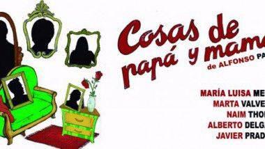 Las 'Cosas de Papá y Mamá' llegan al Teatro Quevedo