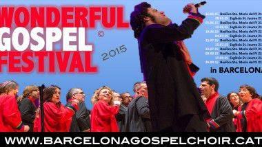 Barcelona se llena de góspel con el primer Wonderful Gospel Festival