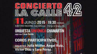 'La Calle 42' lleva la música de Broadway al Auditorio Nacional de Madrid