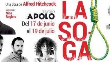 La Soga de Hitchcock en el Teatro Nuevo Apolo