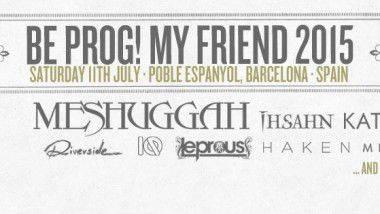Vuelve el festival Be Prog! My Friend con el mejor rock progresivo internacional