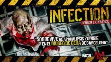'Infection Horror Experience' llena de zombis el Museo de Cera de Barcelona