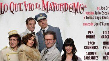 La comedia más irreverente con 'Lo que vio el Mayordomo'