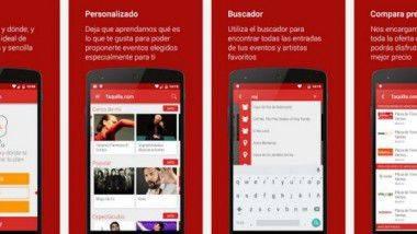 La nueva App de Taquilla.com: Un planificador de ocio en tu móvil