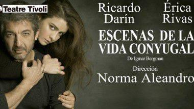 Ricardo Darín, protagoniza 'Escenas de la vida conyugal'