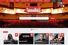 Taquilla.com vende entradas por valor de 3 millones de euros en su primer año