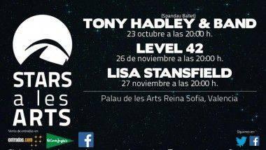 Stars a Les Arts propone el pop más sofisticado en la ciudad de Valencia