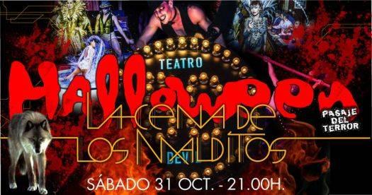halloween-cena-malditos-madrid-teatro-bodevil