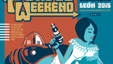 Purple Weekend 2015: Vespas, vinilos, allnighters, moda sixtie y… conciertos!