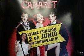 La ganadora de las entradas+hotel para el musical Cabaret nos cuenta su experiencia